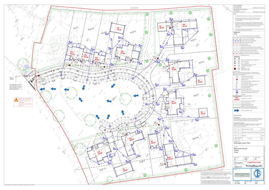 14-1633-03-C01_Drainage Layout_CONSTRUCTION